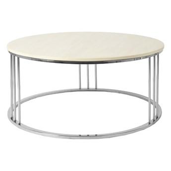 Nowoczesny marmurowy biały stolik 100x45 cm C034B
