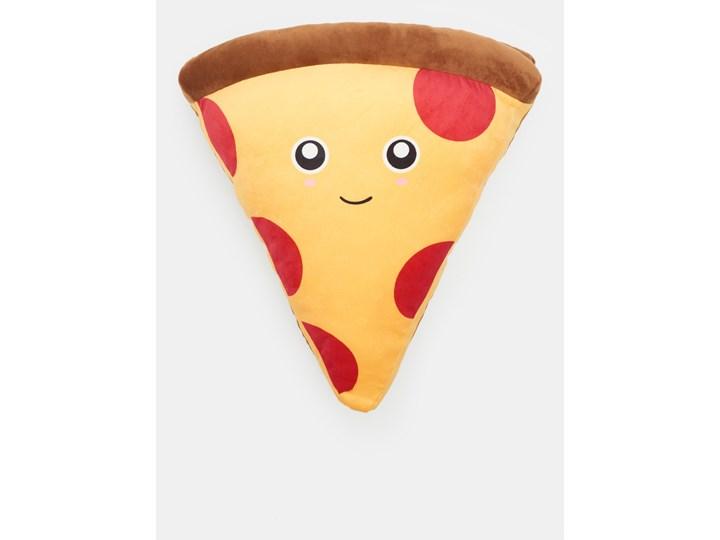 Sinsay - Poduszka pizza - Wielobarwny Kolor Żółty Nieregularne Poduszka dekoracyjna Wzór Z nadrukiem