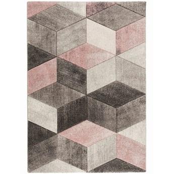 E-floor Dywan Diamond Geometria Szary-róż
