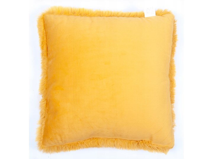 E-floor Poduszka Vicuna Żółta Kwadratowe Aksamit Poduszka dekoracyjna Poliester Kategoria Poduszki i poszewki dekoracyjne