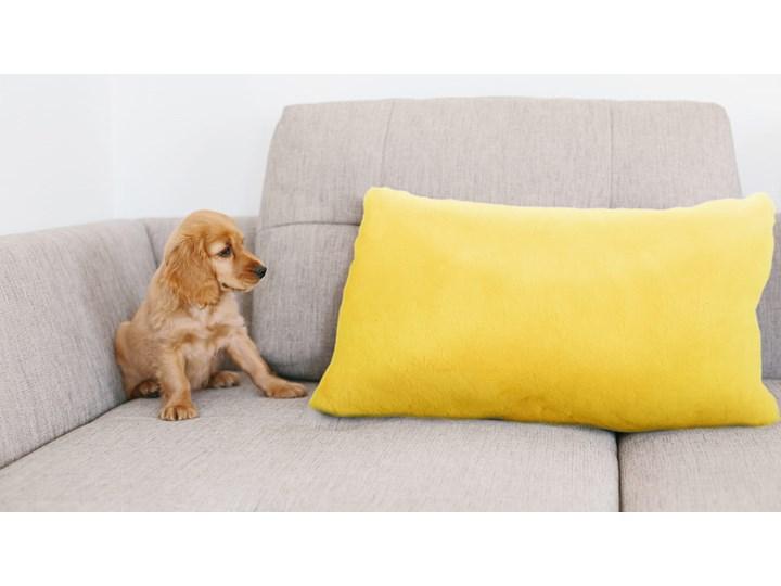 E-floor Poduszka Podłóżna Tedi Żółta Poduszka dekoracyjna Prostokątne Kategoria Poduszki i poszewki dekoracyjne Wzór Jednolity