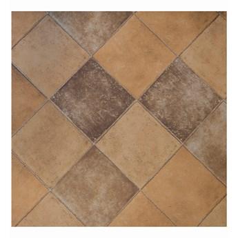 E-floor Wykładzina PCV 2m Colorlon/Belalux  0401 Kafel Brąz