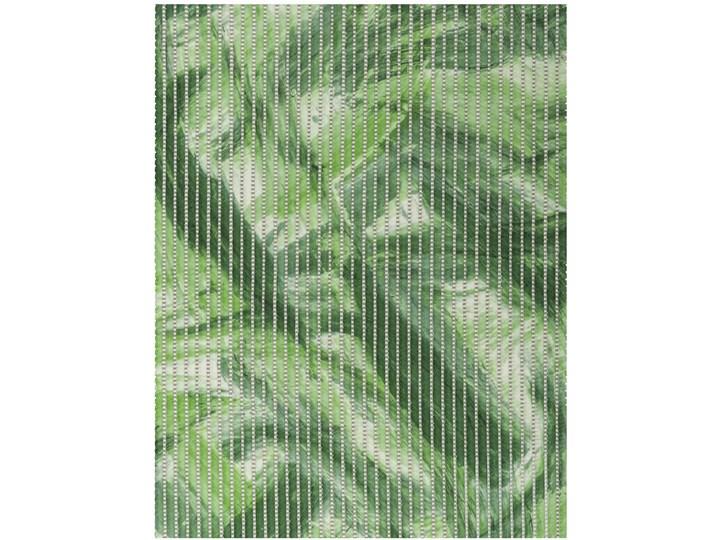 E-floor Komplet Łazienkowy PCV Zielony Liście 50x65 cm Prostokątny Dywanik 45x50 cm Kategoria Dywaniki łazienkowe