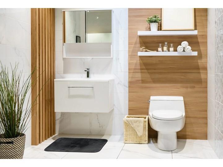 E-floor Dywanik Łazienkowy Polar Czarny Prostokątny Kategoria Dywaniki łazienkowe