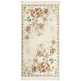 E-floor Dywan Sunshine Kwiaty Biały
