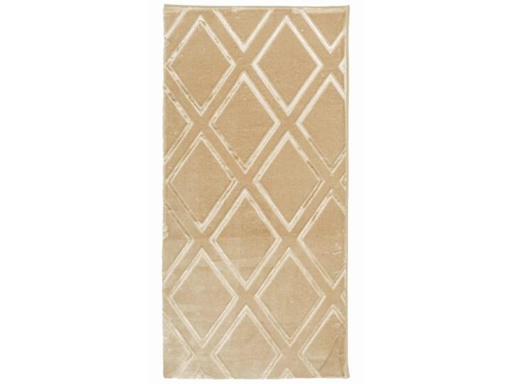 E-floor Dywan Palace Złoty Welur Kolor Beżowy Bawełna Poliester Prostokątny Dywany Pomieszczenie Salon