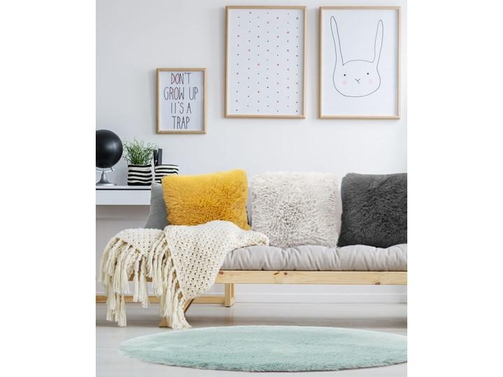 E-floor Poduszka Vicuna Żółta Poliester Kolor Żółty Aksamit Poduszka dekoracyjna Kwadratowe Pomieszczenie Salon