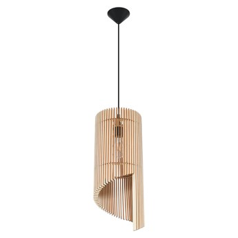 Drewniana nowoczesna lampa wisząca - EX551-Alexit
