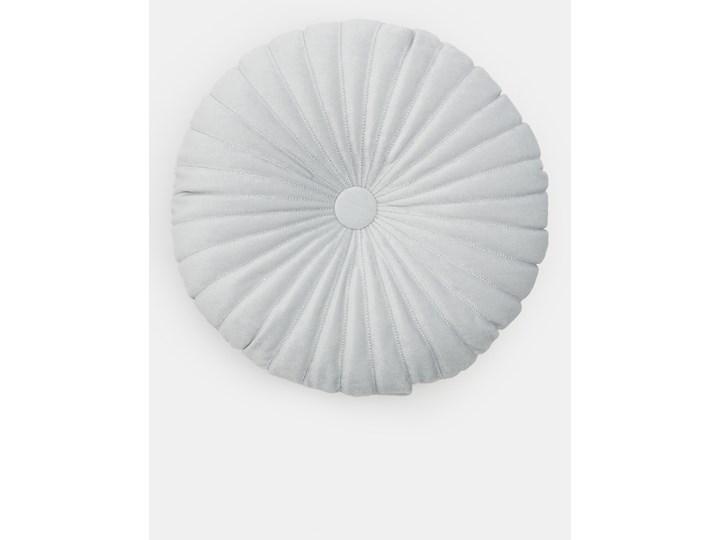 Sinsay - Okrągła poduszka - Jasny szary Poduszka dekoracyjna Okrągłe Kolor Biały
