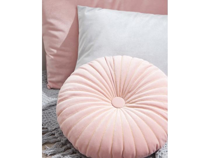 Sinsay - Okrągła poduszka - Różowy Poduszka dekoracyjna Okrągłe Kategoria Poduszki i poszewki dekoracyjne