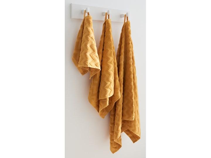Sinsay - Bawełniany ręcznik 70x140 - Żółty Kategoria Ręczniki 70x140 cm Bawełna Kolor Pomarańczowy