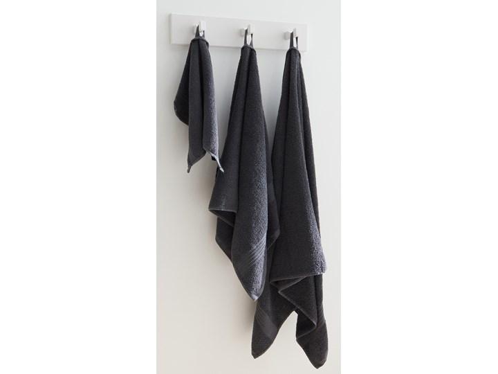Sinsay - Bawełniany ręcznik 50x100 - Szary 50x100 cm Bawełna Kategoria Ręczniki