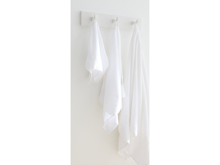Sinsay - Bawełniany ręcznik 70x140 - Biały 70x140 cm Bawełna Kategoria Ręczniki Kolor Szary