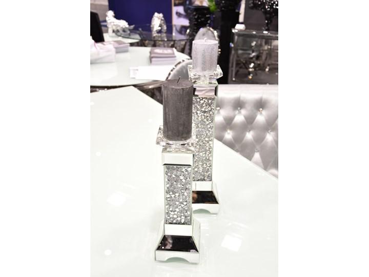 Świecznik Cristall  45 ' Kategoria Świeczniki i świece Metal Kolor Srebrny