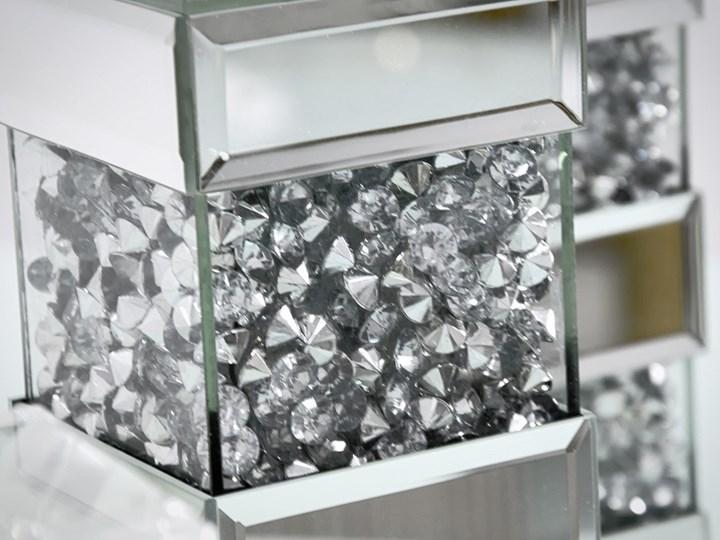 Świecznik Cristall Pas Zestaw x 3 Metal Kategoria Świeczniki i świece