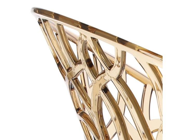 Krzesło Coral bursztynowe Pomieszczenie Salon Szerokość 59 cm Głębokość 60 cm Wysokość 80 cm Pomieszczenie Jadalnia
