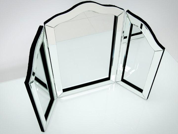 Lustro 3 - częściowe glamur  54x78cm Stojące Lustro z ramą Nieregularne Lustro bez ramy Styl Klasyczny