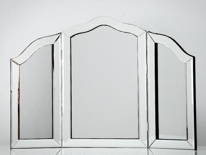 Lustro 3 - częściowe glamur  54x78cm Nieregularne Lustro z ramą Lustro bez ramy Stojące Kategoria Lustra Kolor Srebrny