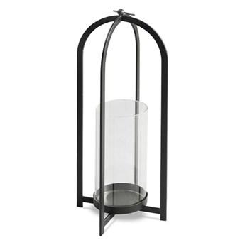 Świecznik Lampion metal 43 cm. wys.