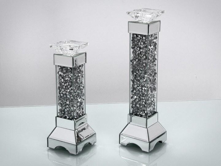 Świecznik Cristall  45 ' Metal Kategoria Świeczniki i świece Kolor Srebrny
