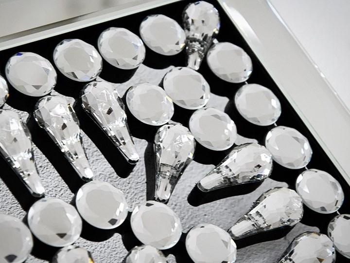 Lustro z  kryształkami Careo Cristall Lustro bez ramy Pomieszczenie Przedpokój Ścienne Prostokątne Styl Nowoczesny