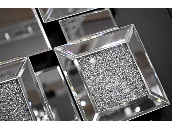 Lustro z  kryształkami Angelitta II Cristall Patt Lustro bez ramy Prostokątne Pomieszczenie Sypialnia Ścienne Pomieszczenie Przedpokój