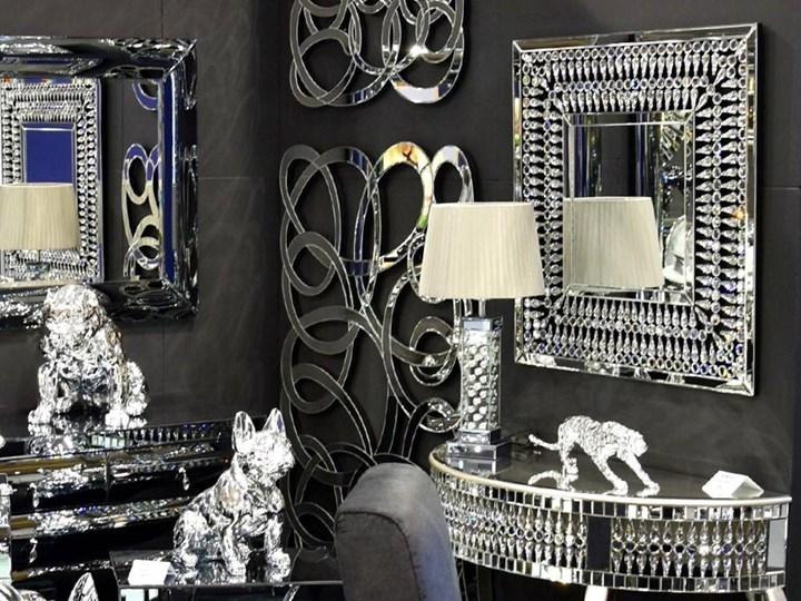 Lustro z  kryształkami Careo Cristall Lustro bez ramy Pomieszczenie Sypialnia Prostokątne Ścienne Kategoria Lustra