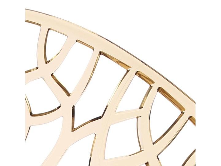 Krzesło Coral bursztynowe Kategoria Krzesła kuchenne Szerokość 59 cm Głębokość 60 cm Wysokość 80 cm Kolor Złoty