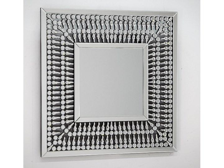 Lustro z  kryształkami Careo Cristall Lustro bez ramy Prostokątne Ścienne Pomieszczenie Sypialnia