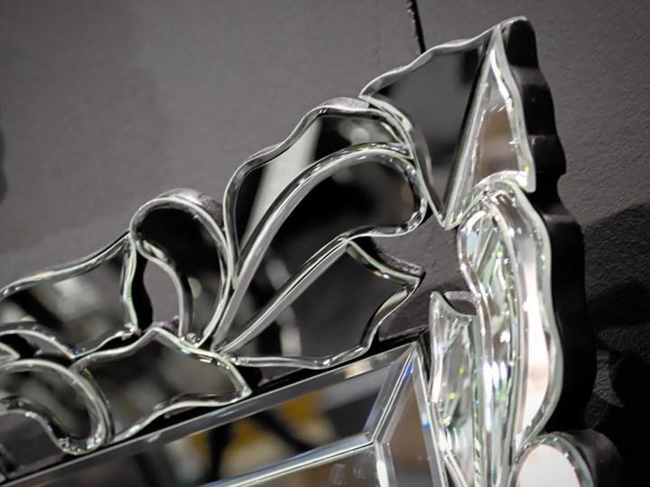 Lustro Flores 180' Ścienne Pomieszczenie Salon Lustro bez ramy Prostokątne Kolor Srebrny