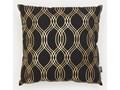 Sinsay - Poduszka dekoracyjna 45x45 - Czarny Kwadratowe 45x45 cm Kategoria Poduszki i poszewki dekoracyjne