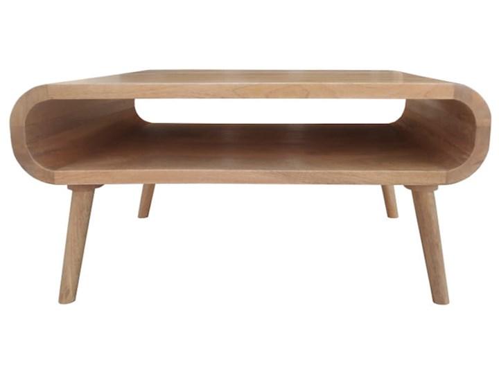 Stolik GUBBE - 80x60 cm (Karmel) Zestaw stolików Drewno Styl Nowoczesny