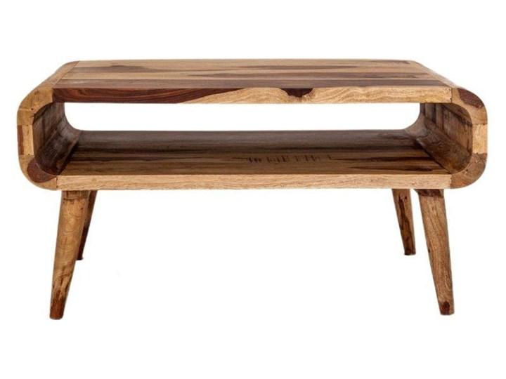 Stolik GUBBE - 80x60 cm (Karmel) Styl Nowoczesny Drewno Zestaw stolików Kategoria Stoliki i ławy