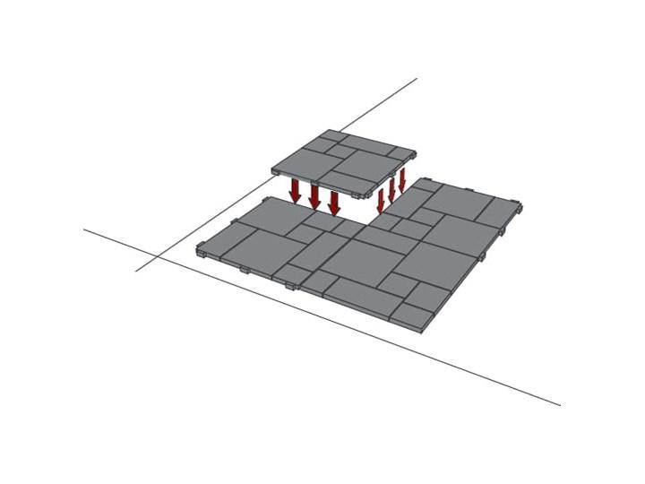 E-floor Płytka Tarasowa Mosaic Grafit Kategoria Deski tarasowe