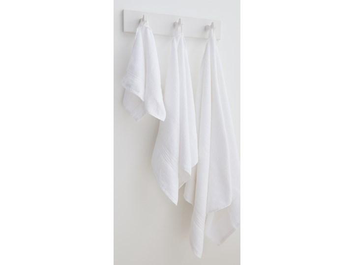 Sinsay - Bawełniany ręcznik 70x140 - Biały 70x140 cm Bawełna Kategoria Ręczniki