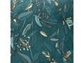 Poduszka dekoracyjna SIERRA, 40 x 40 cm, morska z roślinnym motywem 40x40 cm Kwadratowe Kategoria Poduszki i poszewki dekoracyjne