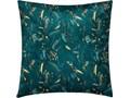 Poduszka dekoracyjna SIERRA, 40 x 40 cm, morska z roślinnym motywem 40x40 cm Kategoria Poduszki i poszewki dekoracyjne Kwadratowe Kolor Zielony