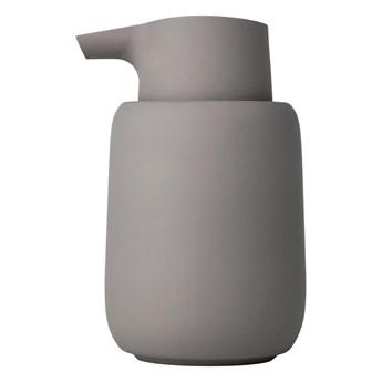 Ciemnoszary dozownik do mydła Blomus Sono, 250 ml