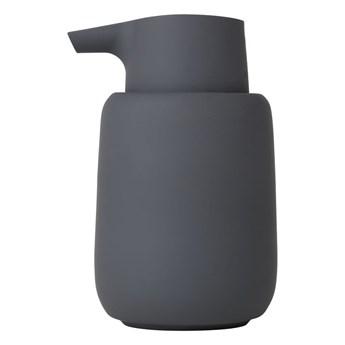 Szaroczarny dozownik do mydła Blomu Sono