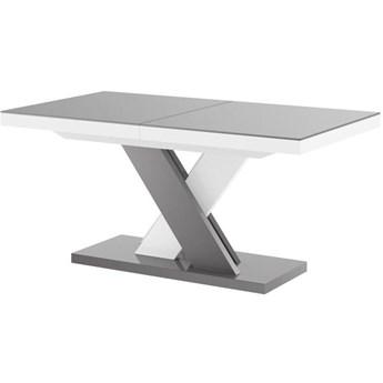 Stół rozkładany XENON LUX 160-256 szaro-biały mix - Meb24.pl