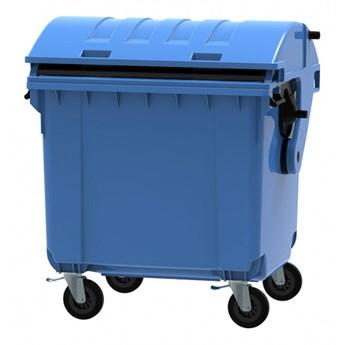 Plastikowy kontener na odpady CLE 1100, niebieski