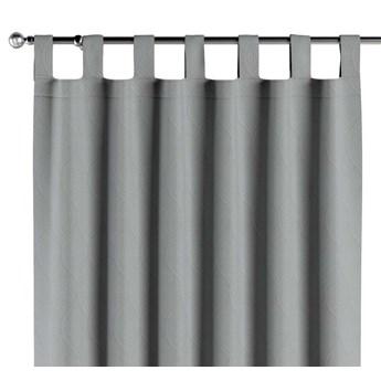 Zasłona zaciemniająca na szelkach 1 szt., geometryczny wzór na szarym tle, 1szt 140 × 260 cm, Blackout - zaciemniające