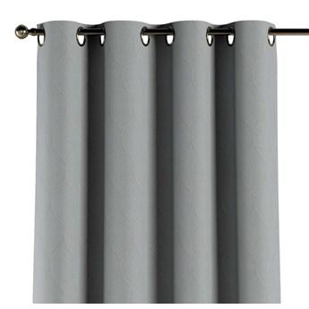 Zasłona zaciemniająca na kółkach 1 szt., geometryczny wzór na szarym tle, 1szt 140 × 260 cm, Blackout - zaciemniające