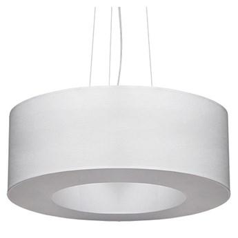 Biały designerski żyrandol z regulacją wysokości - EX692-Saturni
