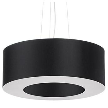 Czarny nowoczesny żyrandol nad stół - EX692-Saturni