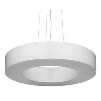 Biały okrągły żyrandol nad stół - EX693-Saturni
