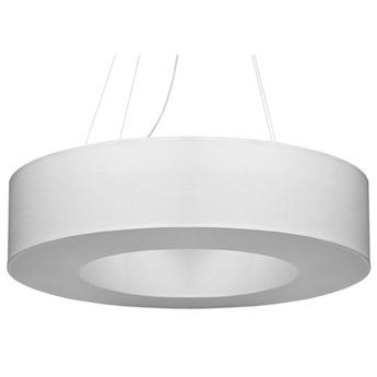 Biały nowoczesny żyrandol nad stół - EX694-Saturni