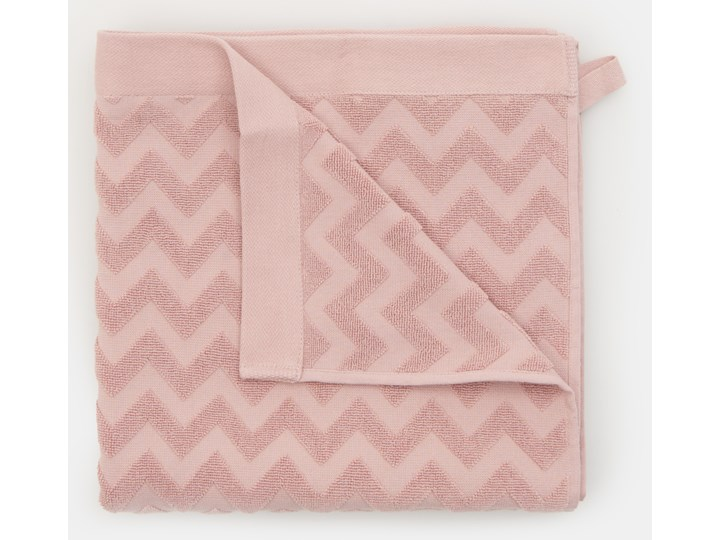 Sinsay - Bawełniany ręcznik 70x140 - Różowy