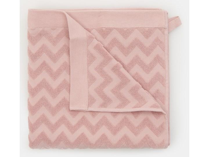 Sinsay - Bawełniany ręcznik 70x140 - Różowy 70x140 cm Bawełna Kategoria Ręczniki