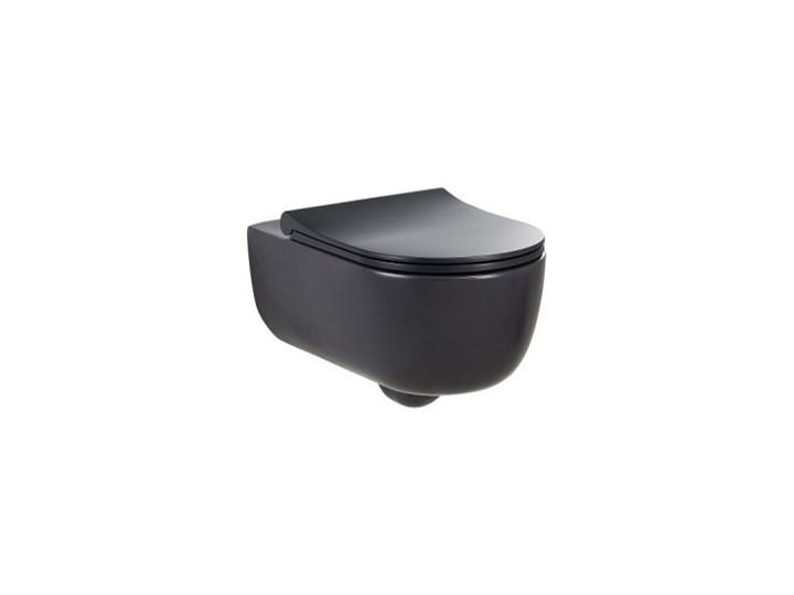 MOBI OBAN MISKA WC PODWIESZANA ANTRACIT 56x36 Wisząca Kategoria Miski WC